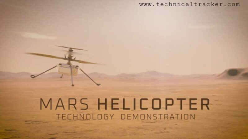 NASA successfully Tested small helicopter on Mars